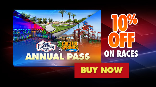 Annual Pass - 15% Off on Races - Buy Now